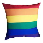 Almohadones Lgbt Orgullo Gay Arcoiris Diversidad Decorativo