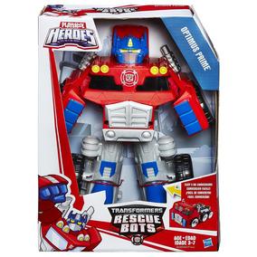 Transformers Rescue Bots Playskool Heroes Optimus Prime
