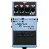 Ce-5 Chorus Ensemble Pedal Boss Efeito Chorus P/ Guitarra
