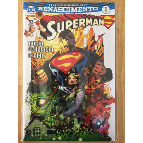 Hq Dc Comics Universo Dc Renascimento Superman Nº 1 Abr/2017