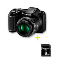Cámara Nikon Coolpix L340 + Sd 8gb