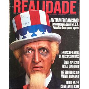 Revista Realidade Abril 1967 Antiamericanismo Carlos Lacerda