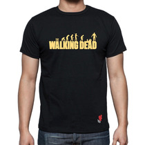 Playeras Buga Cavernicola The Walking Dead Zombies Serie