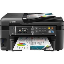 Impresora Epson Wf2630 + Sistema Tinta Continua Sublimacion