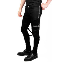 Pantalon Tipo Bondage Zipper Tripp Is6037 Punk Rocker Gothic