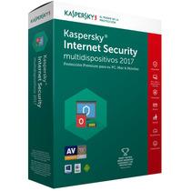 Licencia Kaspersky Internet Security 2017 3 Pc 1año Original