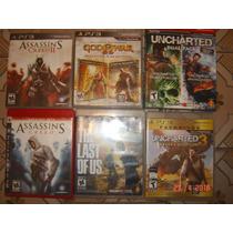 Juegos Ps3 Usados Last Of Us - Assasins Creed