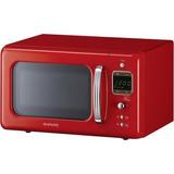Microondas Daewoo 800w 20 Litros Kor-6lbr Rojo Envio Gratis