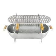 Churrasqueira Alumínio Fundido Completa 56 Cm