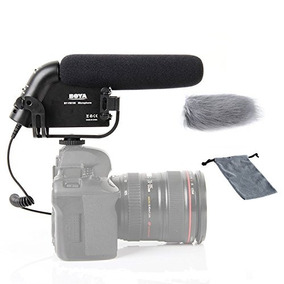 Boya By-vm190 Video Condenser Shotgun Hd Prosumer Microphone