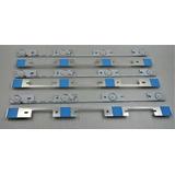 Kit 6 Barras De Led De Aluminio Tv Semp 40l2400 Nova