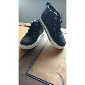 Botitas Skechers Negras Cuero