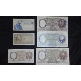 Antiguos Billetes X Lote De 6 Unidades