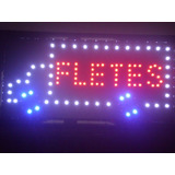 Cartel Led Oferta Bar/fletes No Fumar Nuevos Hasta Agotar¡