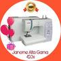 Janome Alta Gama 423s Premium - Semindustrial - Envio Gratis