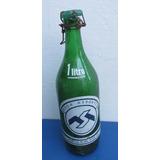 Antigua Botella Soda Resorte, Mar Del Plata, Beun Estado