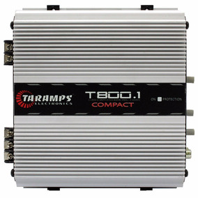 Modulo Taramps T800.1 Compact 1canal 800w Rms Mono T800 2ohm