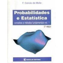 Probabilidades E Estatistica Vol. I ( 2a Edição)