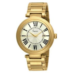 Reloj Freelook Ha1134gm-3 Dorado
