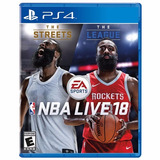 Nba Live 18 The One Edition Ps4 | Digital 1° | Preventa
