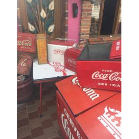 Antigua Hielera Coca Cola