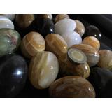 Piedra Ónix Varios Con Forma De Huevo Tamaño Chico