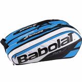 Bolso Tenis Triple Babolat Pure Drive X 12 Azul 2017 Termico