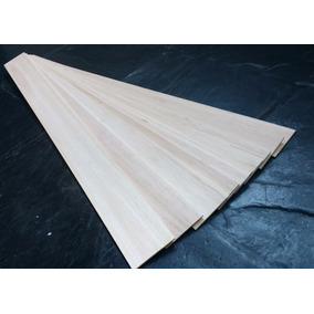 Plancha De Madera Balsa De 2 Mm, 7,5x91,5 Cm.