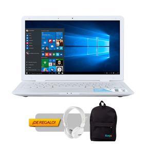 Notebook Pcbox Sigui 3 14 + Auricular + Mochila De Regalo