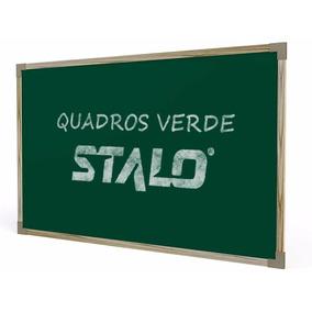 Quadro Verde P/ Giz Escolar Madeira Em Mdf 120x150 Stalo