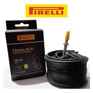 Câmara De Ar 26 Válvula Presta Pirelli 48mm Bike Mtb