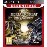 Mortal Kombat Vs. Dc Universe Ps3 Digital Tenelo Ya