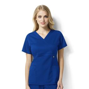 Uniforme Clinico Tens Mujer Azul Rey Wonderwink 6219