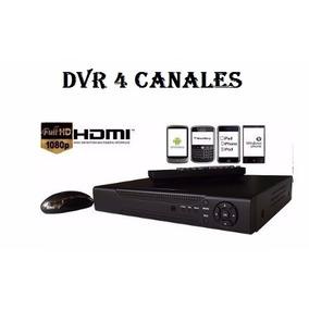 Kit Dvr 4 Canales H.264 Con Hdmi Pagina Propia Somos Tienda!