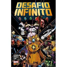 Desafio Infinito Novo Lacrado Panini Comics Capa Dura Thanos