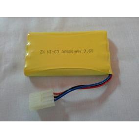 Bateria 9.6v 500mah Ni-cd 3 Pinos