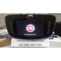 Central Multimidia Fiat Linea 2015-2016 Tela 7 Gps Tv Etc
