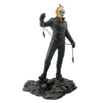 Boneco Motoqueiro Fantasma 33,5 Cm.