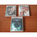 Juegos Playstation 3 Ps3 Bien Cuidados Valor Cada Uno.