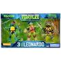 Tortugas Ninja Tmnt 3 Pack Exclusivo Leonardo