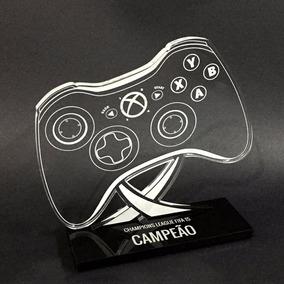 Troféu Controle De Xbox 360 - Troféus Personalizados