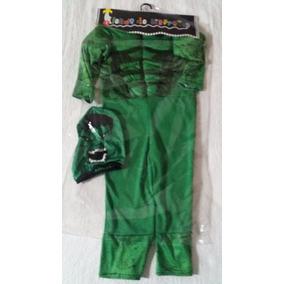 Disfraz Del Increible Hulk Con Musculos Nuevo!!!!