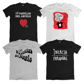 Remeras Las Pastillas Del Abuelo Logo Pone Tu Frase Atrás