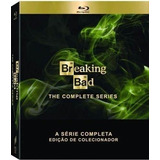 Blu Ray Breaking Bad Coleção Completa Giftset 16 Discos