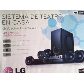 Home Theater Lg Ht305su Hdmi 300 Watt 5.1