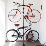 Soporte Tubular Para Exhibir 2 Bicicletas Dilitools