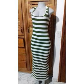 Vestido De Rayas Moda 2017