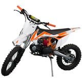 Moto Cross Mini 125cc Gasolina 0 Km Aro 17 4t Freio A Disco