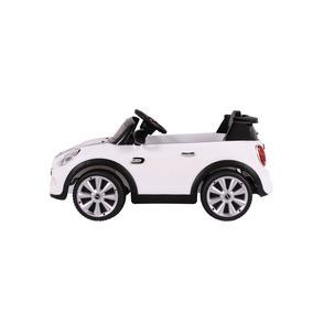 Carro Elétrico Infantil Mini Cooper C/ Controle Remoto Branc