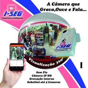 Incrivel Camera Ip Iseg Pan Sem Fio Em Teresina Pi